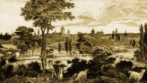 Paderborn um 1830